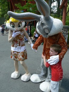 NHL meets Bugs and Lola Bunny